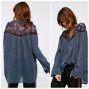 Free People | Hearts and Colors Tunic Top